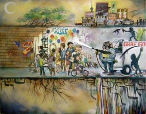 evolution of graffiti and revolt
