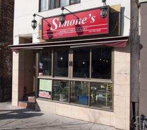 simone's store front