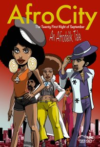 image of the cover page of the Afrodelik comic book